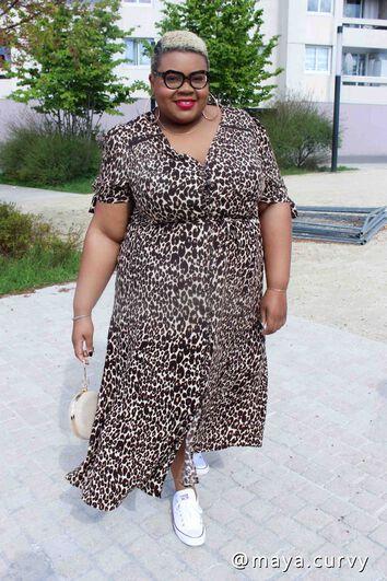 Lookbook Leopard Dress