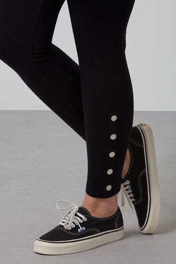 Legging met drukknopen