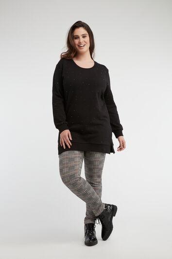 Legging met trendy motief