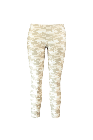 Legging met camouflage print