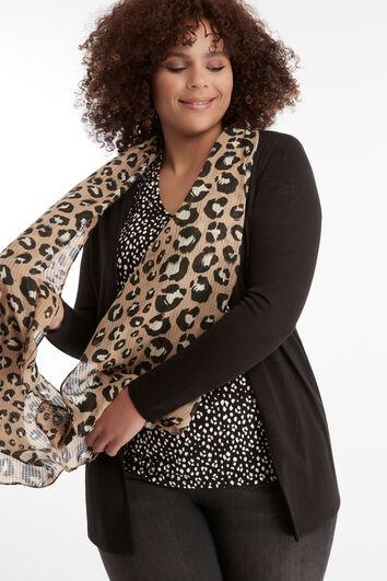 Lichte luipaard sjaal