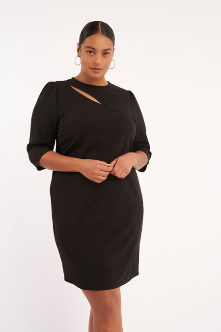 Bodycon jurk met detail