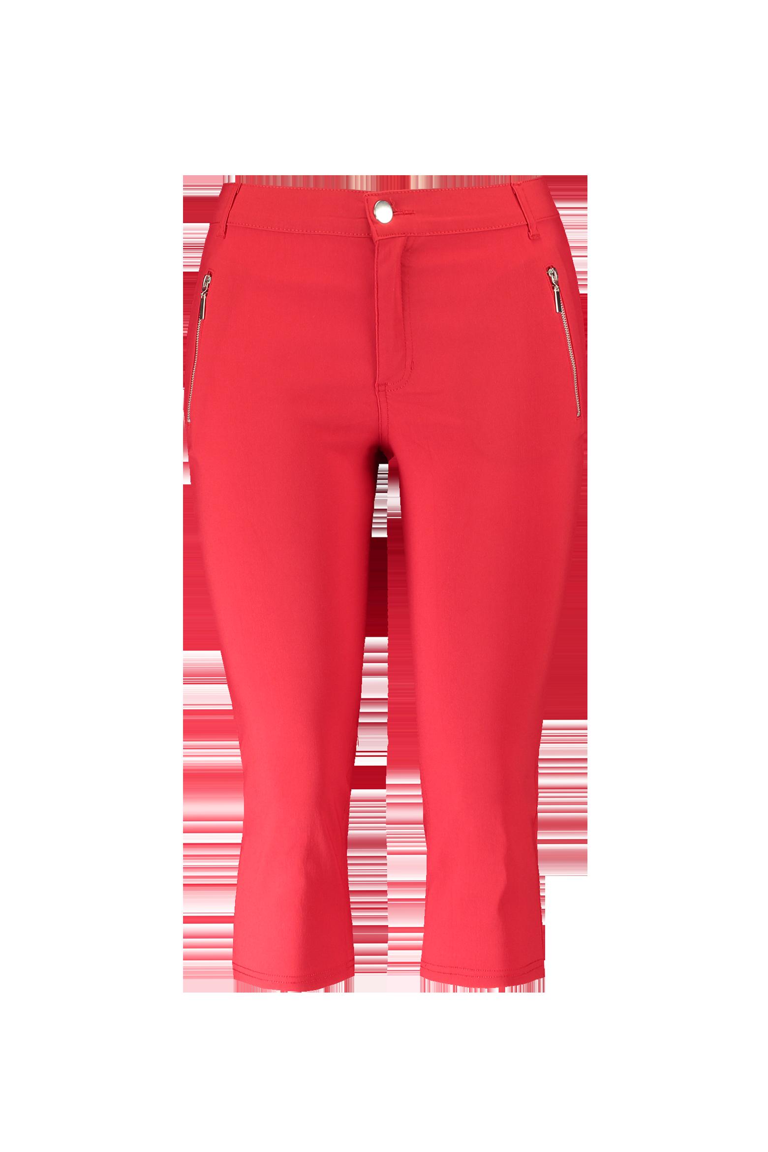 Afbeelding van MS Mode Broeken, Rood